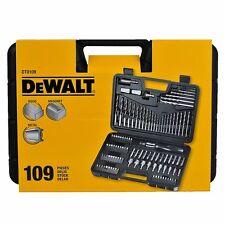 DEWALT DT0109  Screwdriver and Drillbit Set 109 Pcs for Metal, Wood & Masonry