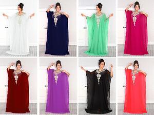 Dubai Style Women Kaftan Caftan Farasha Abaya Maxi Dress Kimono Beach Cover Up F