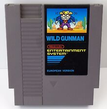 Nintendo NES - Wild Gunman - European Version