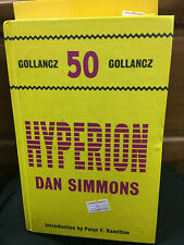 HYPERION  DAN SIMMONS  GOLLANCZ 50   HB 2011 1/1