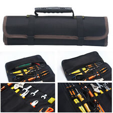 Durable Oxford Electrician Roll Up Hardware Tool Bag Storage Pocket Carry Bag
