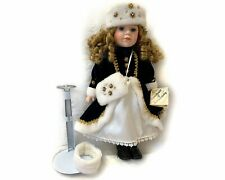 """Memories Porcelain Doll Collectible By Susan Harris 16"""" w/ Coa Certificate"""