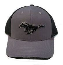 FORD  MUSTANG CHARCOAL AND BLACK HAT