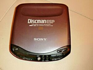 Vintage Sony D-235 Portable Walkman CD Player