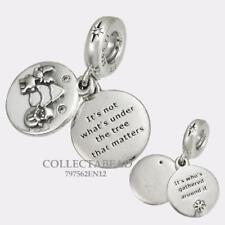 Authentic Pandora Silver Enamel CZ Perfect Christmas Dangle Bead 797562EN12