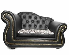 PetObsessed 'King of Comfort' PU Leather Dog Sofa