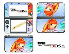 SKIN DECAL STICKER - NINTENDO NEW 3DS XL - REF 133 WINX