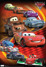 Cars 2 Group Movie Poster Poster Print, 13x19