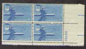 US. C49. 6c. B52 Stratofortress & F-104 Starfighters. PB4. #25762 LR. MNH. 1957