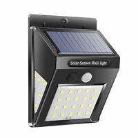 Waterproof 20 LED Solar Lights Motion Sensor Wall Light Garden Yard Lamp#A