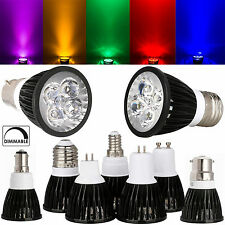 Dimmable CREE MR16 GU10 E27 E14 B22 6W 8W 10W LED Spotlights Bulbs Ultra Bright
