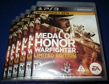 Lot of 6 Medal of Honor: Warfighter - Limited Edition PS3  *New-Free Shipping!