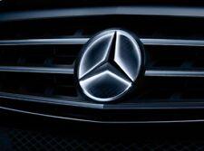 ORIGINALE Mercedes-Benz stella LED illuminato completo set di griglia anteriore C kl. 204