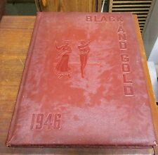 1946 Black and Gold Winston-Salem High Schools North Carolina Yearbook 3 Schools