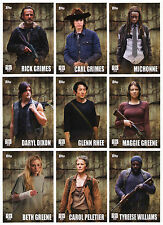 2016 Topps Walking Dead Season 5 - 135 Card Master Set 100 Base + 3 Chase Sets!