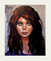 1960's Mid Century ETIENNE ROTH Big Eye Sexual Womanl