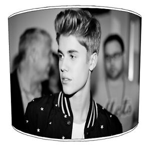 Justin Bieber Lampshades, Ideal Para Combinar Adhesivos de Pared & Pegatinas