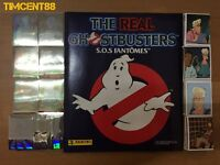 Panini The Real Ghostbusters full 264 Stickers Empty Album S.O.S fantôme French