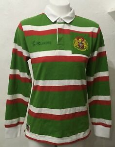LEICESTER TIGERS 125 YEARS L/S CLASSIC JERSEY BY KUKRI SIZE LADIES 10 BRAND NEW