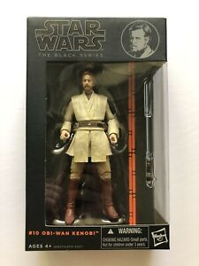 Star Wars Black Series 6' Obi-Wan Kenobi #10 Hasbro 2014 (100% Complete)
