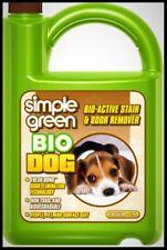 Simple Green Bio Dog Stain Odor Remover Urine Eliminator Pet Safe Cleaner 128 oz