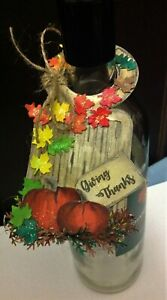 Thanksgiving Bottle Gift Tag - Single/Set of 3