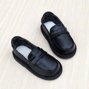 """Black Flats BJD Shoes For 1/3 24"""" 60cm tall Boy BJD Doll SD AS G&D"""