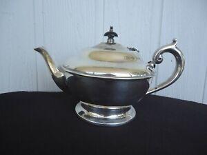 vintage antique perfection  silver plate 6-8 cup teapot tea pot