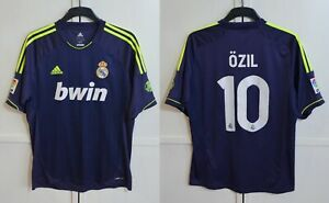 REAL MADRID #10 MESUT OZIL 2012/2013 AWAY FOOTBALL SHIRT JERSEY ADIDAS SIZE L