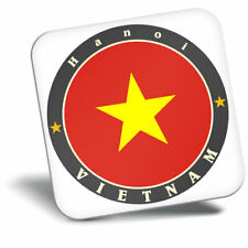 Awesome Fridge Magnet - Hanoi Vietnam Flag Travel Asia Cool Gift #5631