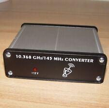 618/145 MHz 10368 10 GHz RECEIVING CONVERTER 3cm 10.368 shf uhf vhf