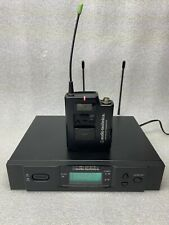 Audio-Technica Atw-R3100D Receiver with Atw-310 Transmitter 655-680Mhz