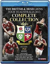 The British And Irish Lions 2013 : Complete Collection (5 Discs) - New Blu-Ray