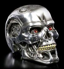 Original Terminator Schädel Box - Skull Gothic Film Deko Totenkopf Figur