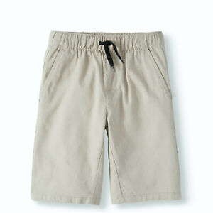 Cherokee Boys' Beige Ripstop Pull On Textured Shorts Size 10-12 Large