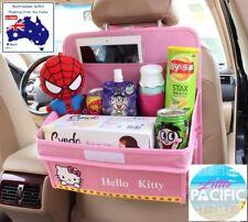 PINK Kids Car Seat Organiser w/ fold down tray  **AUSSIE STOCK - FAST Dispatch**