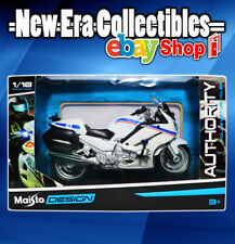 Maisto Design YAMAHA FJR1300A Authority Police Motorcycle 1:18 Scale 2019