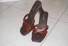 No Boundaries Kelly High Heel Brown Shoes Size 7