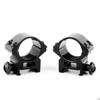 """2pcs 25mm 1 Inch 1"""" Weaver Scope Ring Rail Mount 20mm Picatinny for Rifle Scope"""