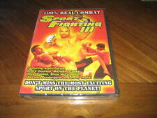 Sport Fighting 3 DVD - MMA Jiu Jitsu Muay Thai Wrestling Grappling - Real Combat