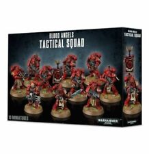 Warhammer 40K Blood Angels Tactical Squad 10 Space Marines Marine