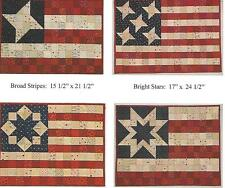 Bright Stripes, Bright Stars quilt pattern by Sandy Petsche for Quilt Woman
