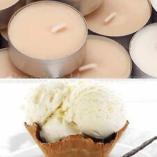 60 x IKEA SINNLIG Sweet Vanilla (Natural-Colour) Scented Tealight Candles