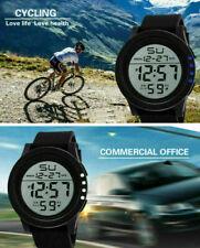Reloj para Hombre Mujer Correr LED Digital Impermeable estilo Militar Deportivo De Luz De Fondo