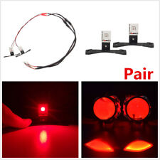 2X Car LED Devil Demon Red Eye Light Ring For Projector Lens Headlights Retrofit