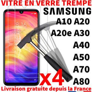 VERRE TREMPÉ POUR SAMSUNG GALAXY A50 A70 A40 A20 A10 PROTECTION ÉCRAN VITRE FILM