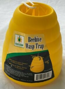 REUSABLE BEEHIVE  YELLOW JACKET & WASP TRAP  *  PROTECTS PICNICS from BEES * NEW