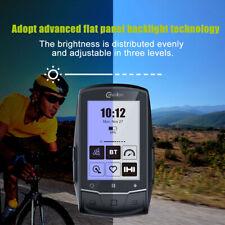 GPS Bike Computer Fahrradcomputer kabellos Fahrradtacho Radcomputer+ Heart Rate