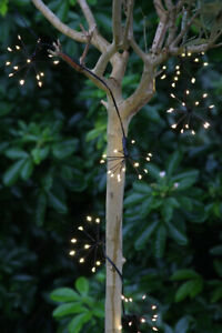 Starburst Chain Lights - Mains or Battery - Indoor or Outdoor - 240/150 Lights