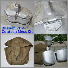 USSR Russian Soviet VDV Paratrooper Canteen Mess Kit Water Flask Bowl Cup w Bag